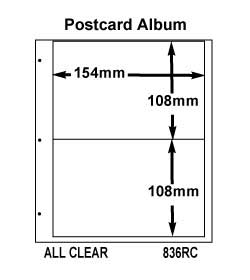 10 US POSTCARD PGS-CLEAR