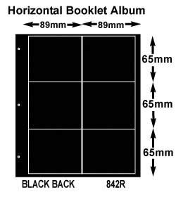 10 BOOKLET PGS-HOR BLACK