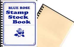 BLUE ROSE STOCKBOOK 10P  8 X11
