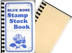 BLUE ROSE STOCKBOOK 4 3/4X7 1/2