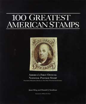 100 GREATEST AMERICAN STAMPS