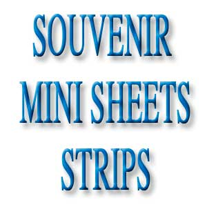 Souvenir and Minisheets Strips
