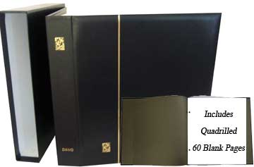 BINDER/CASE W\80 QUAD PGS