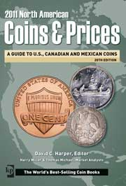 2011 NO AMER COINS AND PRICES