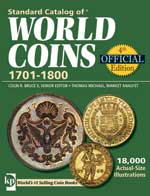 STAND CAT-WORLD COINS #4 ED. 1701-1800