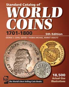 WORLD COINS 1701-1800 #5 ED