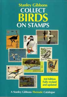 COLLECT BIRDS ON STAMPS 1992