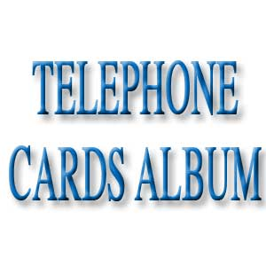 Telephone Cards Album