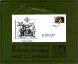 BICENTENNIAL FDC'S FOREIGN COUNTRIES M TO W